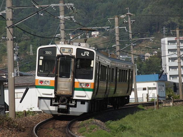 213系普通 中央本線下諏訪~岡谷01