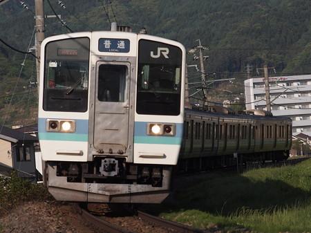 211系普通 中央本線下諏訪~岡谷04