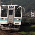 写真: 211系普通 中央本線下諏訪~岡谷04