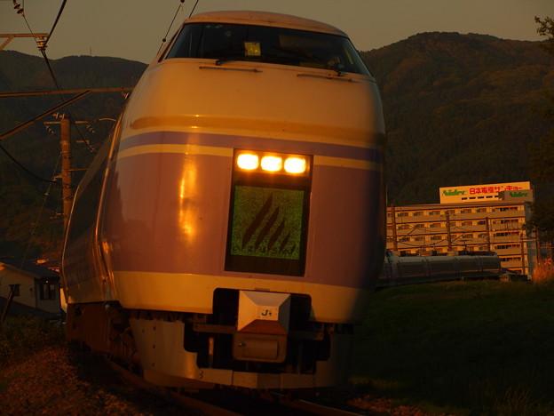 写真: E351系特急スーパーあずさ 中央本線下諏訪~岡谷07