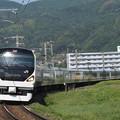 E257系特急あずさ 中央本線下諏訪~岡谷01