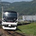 写真: E257系特急あずさ 中央本線下諏訪~岡谷04