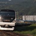 写真: E257系特急あずさ 中央本線下諏訪~岡谷06