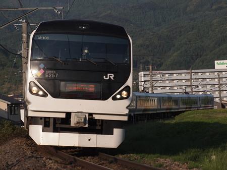 E257系特急あずさ 中央本線下諏訪~岡谷07