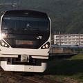 写真: E257系特急あずさ 中央本線下諏訪~岡谷07