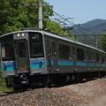 写真: E127系快速 篠ノ井線明科~西条