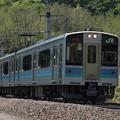 写真: E127系普通 篠ノ井線明科~西条