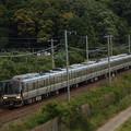 写真: 223系普通 東海道本線彦根~米原05