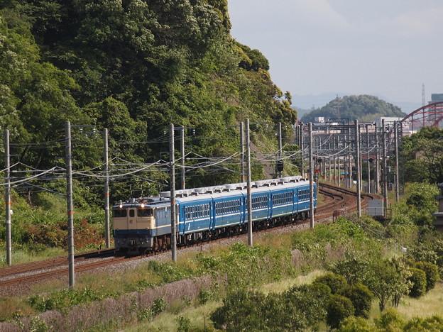 写真: EF65北びわこ回送 東海道本線彦根~米原01