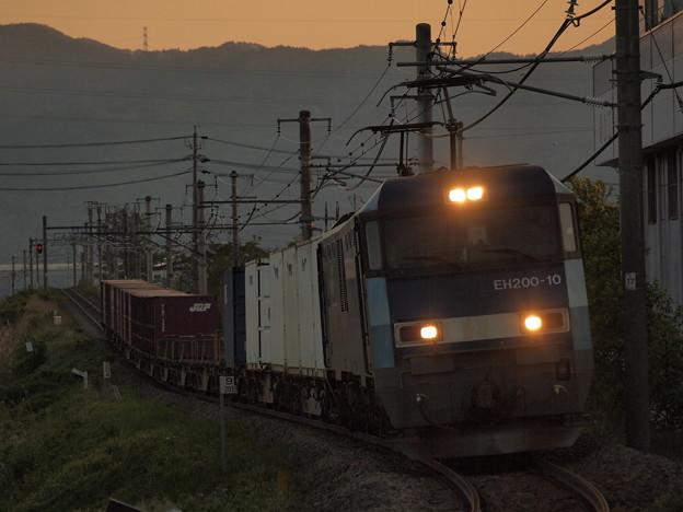 写真: EH200貨物 中央本線下諏訪~岡谷02