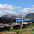 写真: D51試運転 北陸本線河毛~高月01
