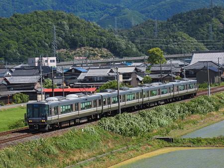 223系新快速 北陸本線米原~坂田