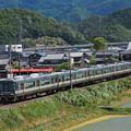 写真: 223系新快速 北陸本線米原~坂田