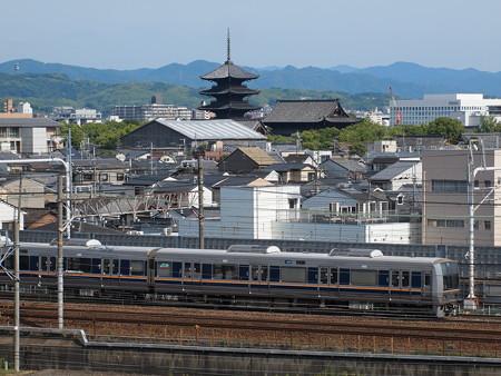 207系普通 東海道本線京都~西大路