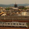 写真: EF65メトロ13000系甲種 東海道本線京都~西大路02