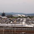 写真: N700系のぞみ 東海道新幹線京都~新大阪02