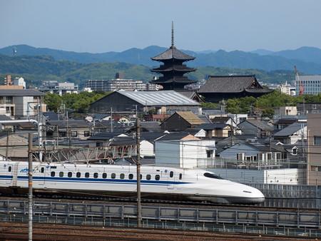 N700系試運転 東海道新幹線