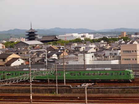 117系回送 東海道本線京都~西大路