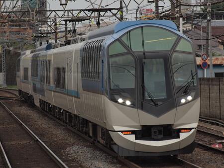 近鉄50000系しまかぜ 近鉄名古屋線米野駅