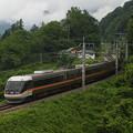 写真: 383系特急しなの 篠ノ井線姨捨~稲荷山03
