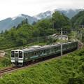 写真: 211系普通 篠ノ井線姨捨~稲荷山04