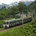 写真: 211系普通 篠ノ井線姨捨~稲荷山05