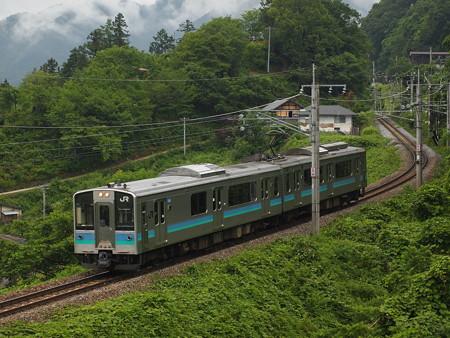 E127系普通 篠ノ井線姨捨~稲荷山02