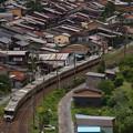 写真: 383系特急しなの 中央本線奈良井~藪原01