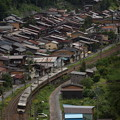 写真: 383系特急しなの 中央本線奈良井~藪原04