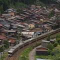 写真: 383系特急しなの 中央本線奈良井~藪原06