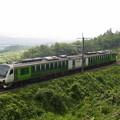 写真: HB-E300リゾートビューふるさと  篠ノ井線姨捨~稲荷山01