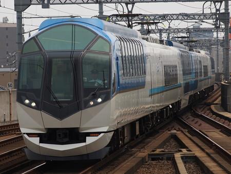 近鉄50000系しまかぜ 近鉄名古屋線八田駅