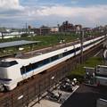 写真: 683系特急サンダーバード 東海道本線向日町~桂川