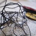 Photos: 黒い糸で結ばれた (MFしました)