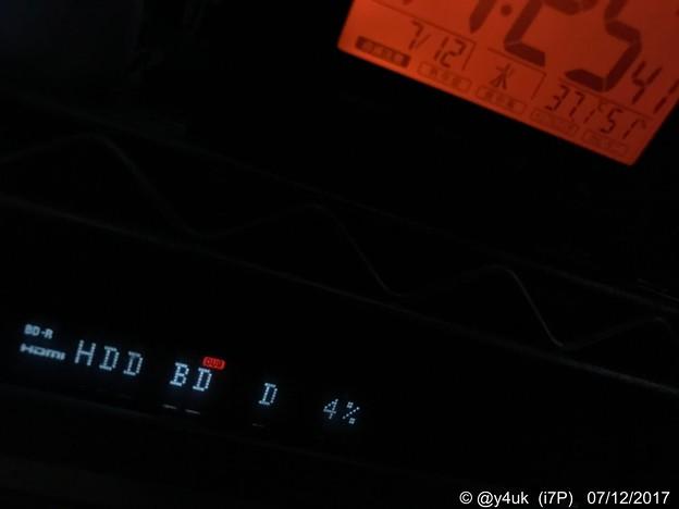 Photos: 37.1℃ 51% レコーダー6hダビング中 ~5年経つSONYで