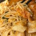 写真: 豆腐うどん肉もやし白菜まいう~辛さが熱さが!冬夜に暖まるチゲ鍋ガスト~家じゃない落ち着くマイペース美味しい感涙
