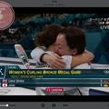 Photos: 22:42カー娘。勝利決定の瞬間!藤澤五月&吉田知那美ハグそだねーヽ(;▽;)ノ