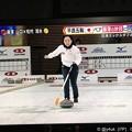 Photos: 藤澤五月自分で投げてスイープしにダッシュ!笑ってる!吉田知那美「心から楽しんでる時のさっちゃんは世界一強い」心奪われた(°▽°)彼女ならカーリング人気!太陽!魅力オーラ人間性(*^▽^*)そだねー!