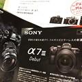 写真: 3.23 α7III SONY フルサイズ最強ミラーレス発売日、革命~or OM-D E-M1, owner E-M10II~比べる聞く調べるカタログ展示機は全て無料、悩みenjoy now :)