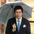 写真: 日傘男子もイケてる上に注意が伝わる斉田さん「兼用の傘もあります男性も使ってほしいです。紫外線にも要注意です!」4.20 ニュースウオッチ9 和む( ´ ▽ ` )