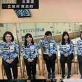 写真: <(`・ω・´)「吉田知那美選手!」敬礼連鎖を復活させた!小指上がって似合うだねー(*^▽^*)そだねー!