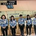 写真: <(`・ω・´)「吉田夕梨花選手!」やるっきゃないっしょ(*^▽^*)そだねー!