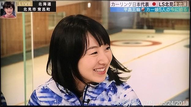 Photos: 藤澤五月「左右の全員に首振って、ありがとうございます!x2」サラサラ髪をなびかせて~純粋素朴の満面の笑み(^-^)ますます可愛く綺麗になった。お誕生日おめでとー(*^▽^*)そだねー!