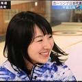 写真: 藤澤五月「左右の全員に首振って、ありがとうございます!x2」サラサラ髪をなびかせて~純粋素朴の満面の笑み(^-^)ますます可愛く綺麗になった。お誕生日おめでとー(*^▽^*)そだねー!