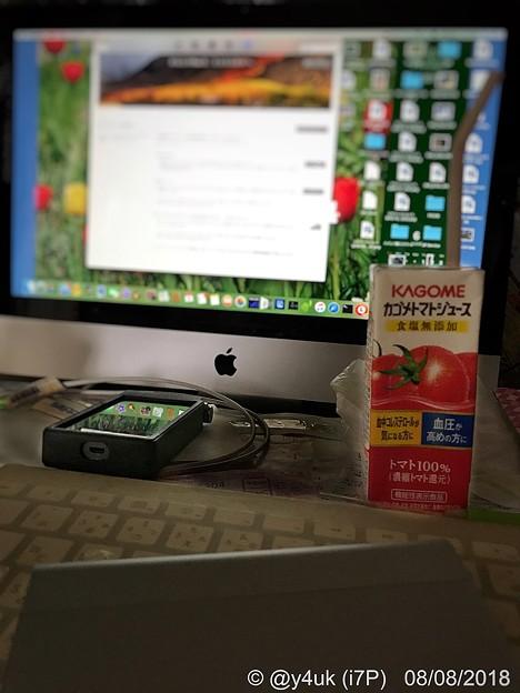 2018.8.8「3つの8」台風来る涼しいから5ヶ月ぶりMacできDAPへCD音楽インポート&iOS11.4.1→iPadAir&iPhone7Plus~超高級ヘッドホンシステム買う悩み日々生きられる