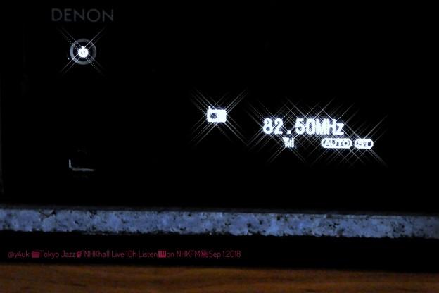 "DENON""82.5MHz"" on NHKホール'東京Jazz'10h♪Great performance ""Herbie Hancock"" (ISO3200/260mm/クロスフィルター:TZ85)"