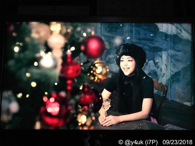 "Photos: あと3ヶ月""Christmas Wish""安室奈美恵はXmas songも素晴らしい♪happy気分良くなれる(^o^)XmasサイコーJoy!all people!~セブンイレブンXmasソング"