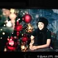 """写真: あと3ヶ月""""Christmas Wish""""安室奈美恵はXmas songも素晴らしい♪happy気分良くなれる(^o^)XmasサイコーJoy!all people!~セブンイレブンXmasソング"""