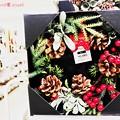 Photos: Xmas lease◯クリスマスリース◯飾ればリスさん来る松ぼっくりだよ(°▽°)寂しくないかも…リスだけど~ハロウィン中Xmas販売☆観てるだけでHeartwarming[11.27小さな幸せ日記]
