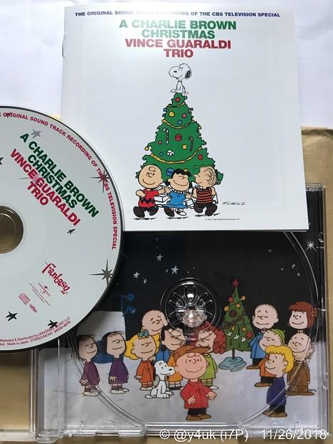 """写真: A Charlie Brown Christmas/Vince Guaraldi Trio""""スヌーピーのメリークリスマス""""サントラ♪XmasツリージャケイラストCD可愛いけど~本気大人向けJazz名盤"""